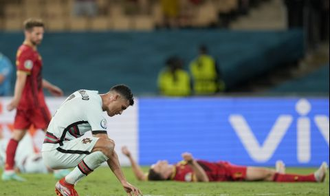 UEFA EURO 2020: Футболни легенди се подиграха с Кристиано Роналдо - 1