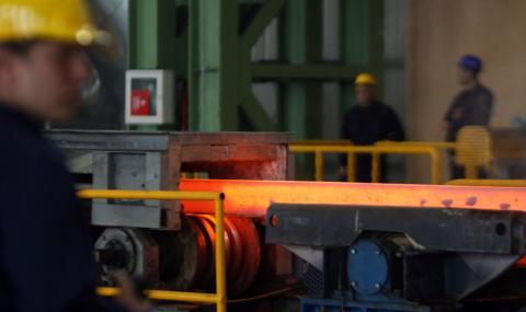 Трагичен инцидент в завода за стомана в Перник