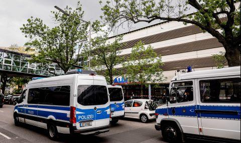 Журналисти задържани на протест в Германия