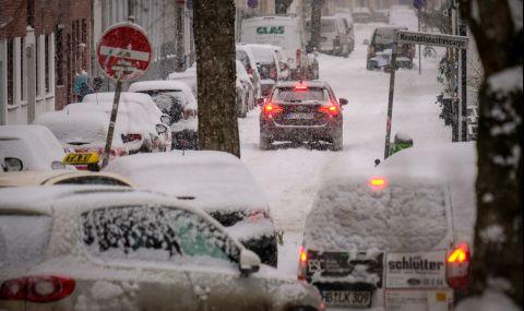 Транспортен хаос в Германия заради снега