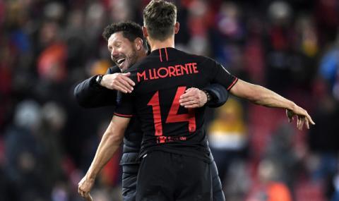 Атлетико Мадрид се моли шампионатът в Испания да продължи