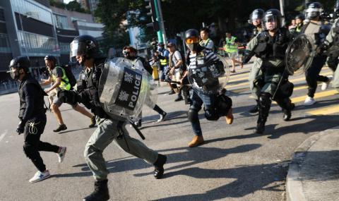 Протестите в Хонконг не спират