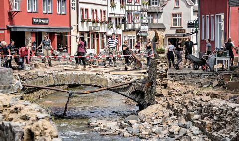 Германия създава възлизащ на един милиард евро фонд за възстановяване
