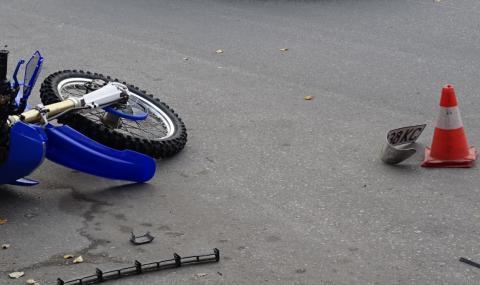 Мъж загина при инцидент с мотопед във Видинско