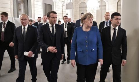 Готви се среща на Нормандската четворка