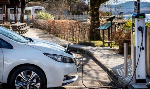 Хората с електрически коли минават повече километри от тези с конвенционални автомобили
