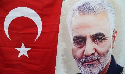 Хиляди почетоха в Багдад паметта на убит ирански генерал