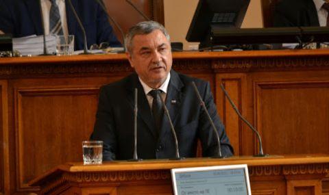 Валери Симеонов посреща в Народното събрание държавния секретар на Унгария и знакови лица на българската общност там