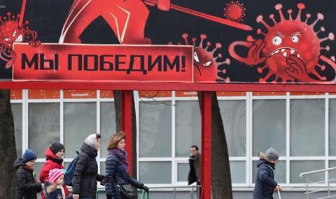 Беларус очаква броят на заразените с коронавирус да намалява след месец