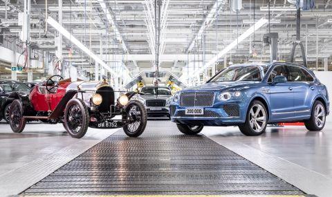 Bentley произведе 200 хиляди автомобила - 1