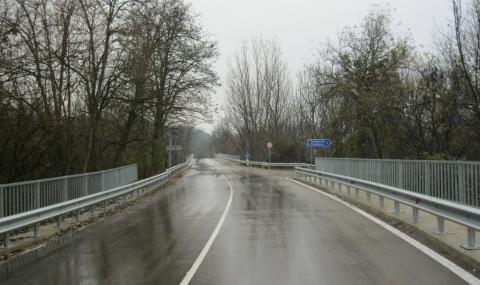 Пътищата са мокри