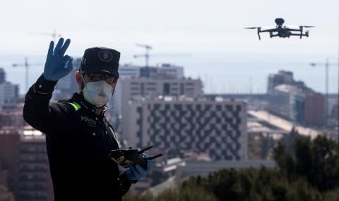 Полицията в Киев издирва нарушителите с дронове