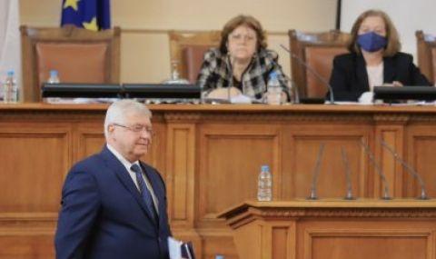 Изслушват Ананиев в Народното събрание