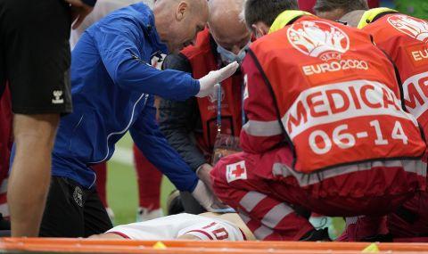 Приятна изненада: Един от лекарите, спасили Ериксен, е българин