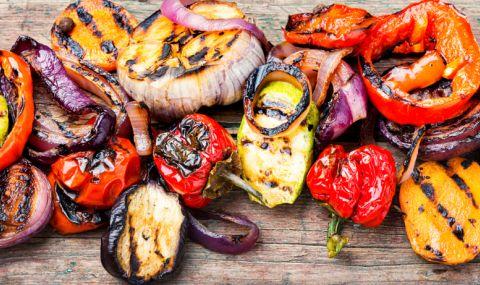 Рецепта за вечеря: Мариновани зеленчуци на барбекю - 1