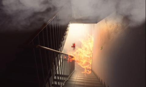 Жена загина при пожар