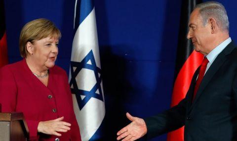 Подкрепа! Меркел изрази солидарност с Израел и осъди остро ракетния обстрел на