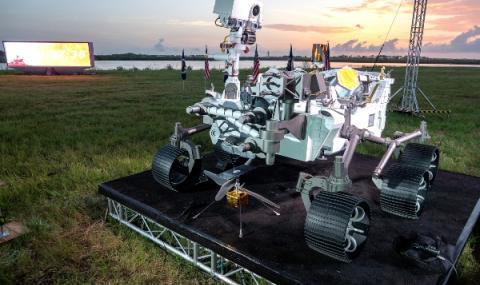 Новият апарат на НАСА близо до Марс
