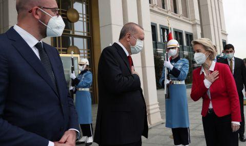 Напрежение между Италия и Турция