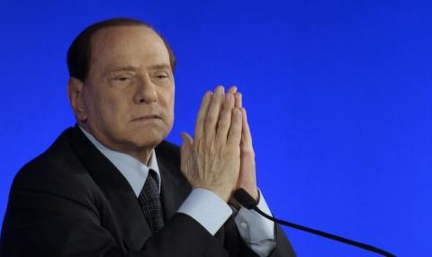 Берлускони иска Рим вън от Еврозоната