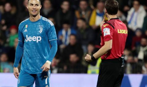 Нов исторически мач за Роналдо и Ювентус би СПАЛ