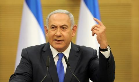 Тестът за коронавирус на Нетаняху е отрицателен, карантината му изтича утре
