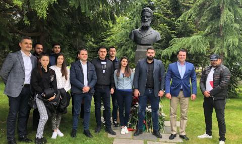 Калоян Паргов: Великото дело на Ботев е урок по родолюбие, който всеки българин трябва да помни