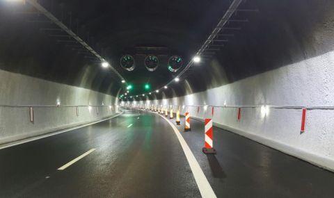 """Ограничават движението в тунел """"Витиня"""" - 1"""