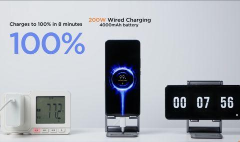 Xiaomi показа зарядно което презарежда телефон само за 8 минути (ВИДЕО)