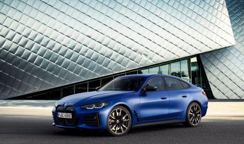 BMW представи първата М Performance електрическа кола - 7