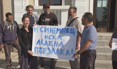 Лапчев за Синеморец: Не протестират местни, няма да застрояваме поляната утре