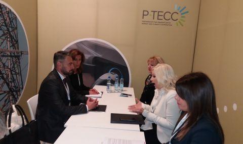 Живков обсъди ключови проекти с комисаря по енергетика и със сръбската си колега Зорана Михайлович - 1