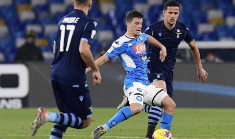 Наполи изхвърли Лацио от турнира за Купата на Италия