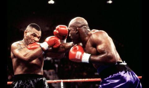 Задава се ново боксово зрелище - Майк Тайсън срещу Ивендър Холифийлд!