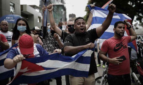 Протести в Куба: Интернетът още е спрян, 36-годишен мъж е убит