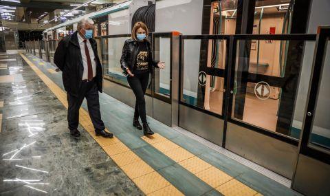 Пуснаха 4-те нови станции от третата линия на метрото в София