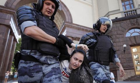 Над 1300 арестувани: какво се случи в Москва?