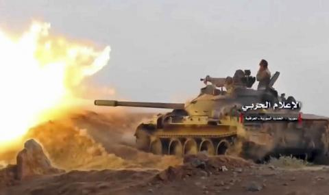 Турската артилерия засипа Сирия с огън и жупел (ВИДЕО)