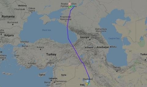Самолет кацна аварийно в Ростов на Дон