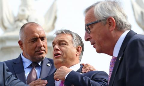 Юнкер: Орбан не е европейски лидер