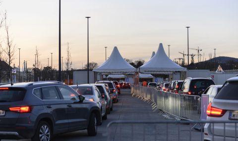 Австрия затяга граничния контрол
