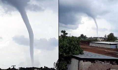Сняг през юли и торнадо в Анталия