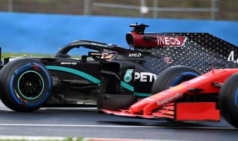 Групово ваксиниране във Ferrari и Mercedes преди старта на сезона във Формула 1