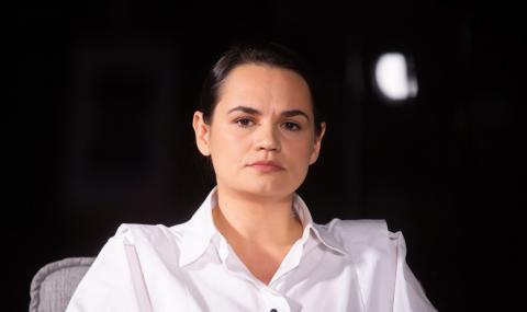Тихановска отива в Европейския парламент