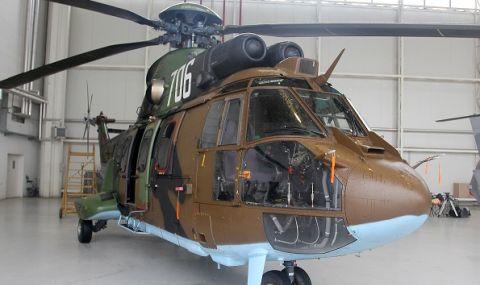 "Военни и вертолет ""Кугар"" се включиха в гасенето на пожара над Карлово  - 1"