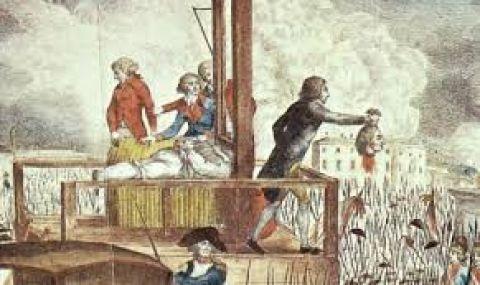 21 януари 1793 г. Екзекуцията на крал Луи XVI