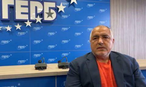 Бойко Борисов: Само не са ми пришили, че съм изял някого на филета
