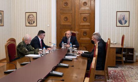 Румен Радев поиска проверка на инцидента в Чешнегирово
