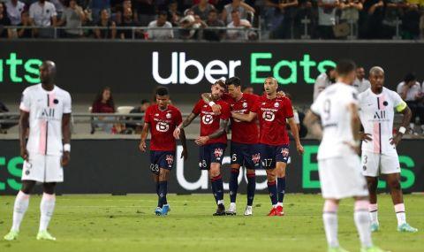 Лил грабна Суперкупата на Франция след победа над ПСЖ - 1