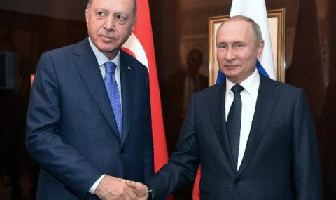 Путин и Ердоган  договориха допълнителен диалог за Сирия